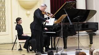 Равель    Соната для скрипки и фортепиано №2