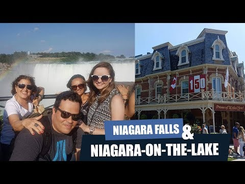 Dia perfeito em Niagara falls & Niagara on the Lake