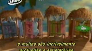 Cybernet Brasil2009 - Game Rayman Raving Rabbids DVD PC - XBOX 360 - PS2 - WII  - ANÁLISE