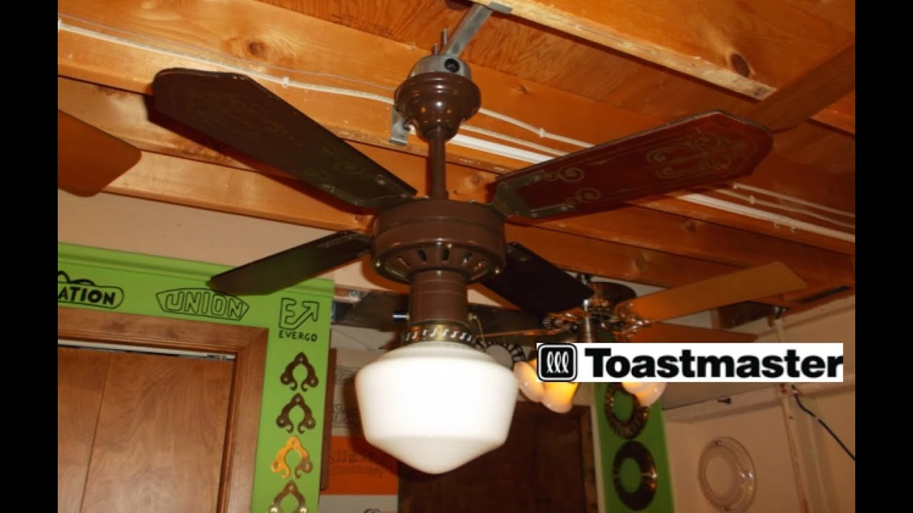 Toastmaster Ceiling Fan Hd Remake Youtube