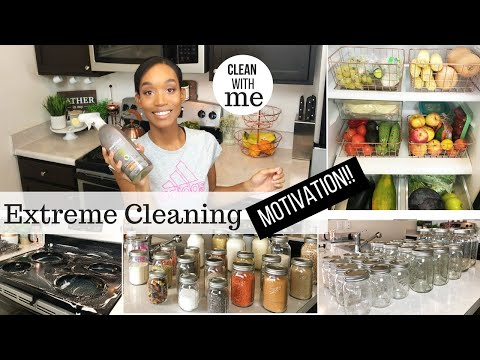 CLEANING MOTIVATION // CLEAN WITH ME 2018 // WEEKEND CLEANING ROUTINE // SAHM CLEANING ROUTINE