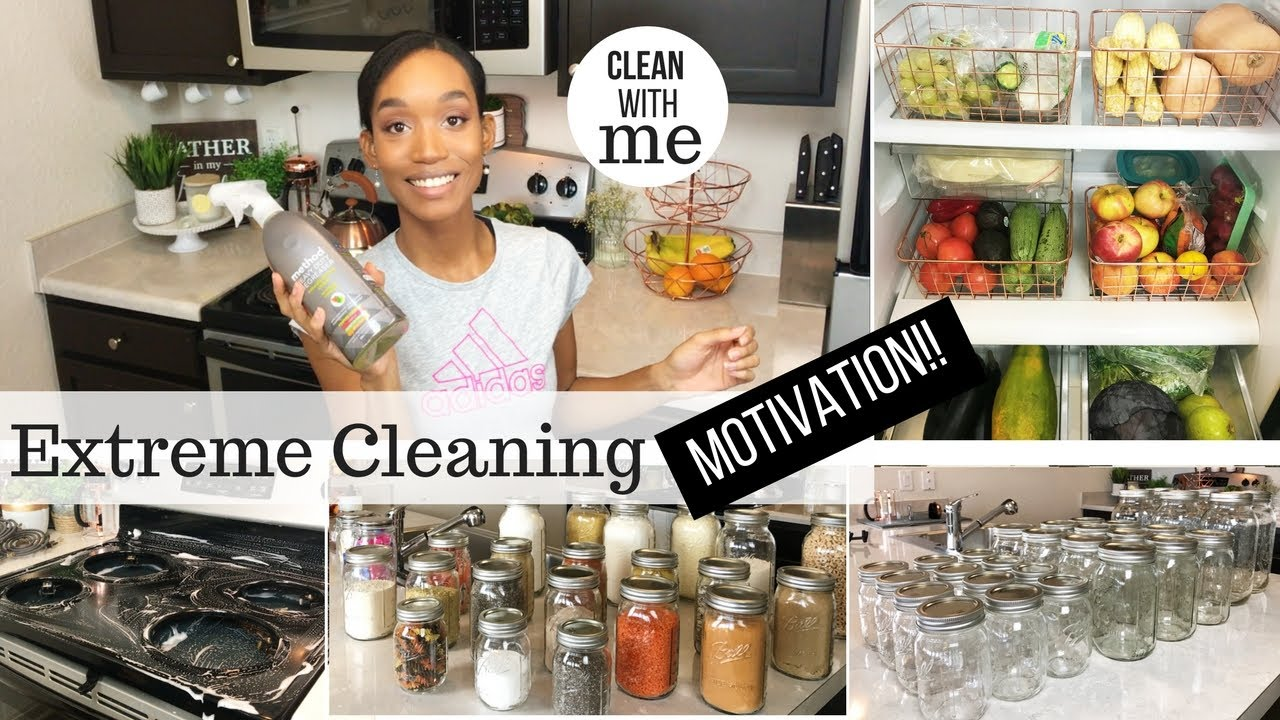 Cleaning Motivation Clean With Me 2018 Weekend Cleaning Routine Sahm Cleaning Routine