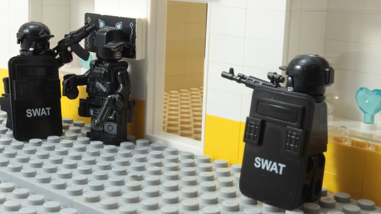 Download Lego SWAT - The Robbery Fail Episode 2 Stop Motion Animation