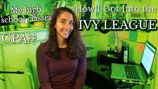 REVEALING MY STATS // GPA + Transcript (High School Classes) thumbnail
