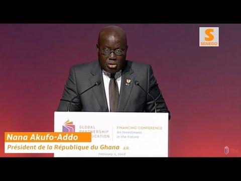 Le discours de Nana Akufu-Addo à Dakar complètement à l'opposé de ses pairs, très applaudi. Regardez