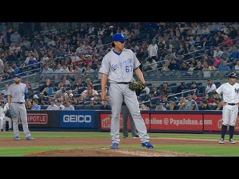 KC@NYY: Wang Returns To Yankee Stadium As A Royal