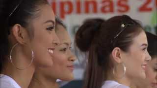 Bb. Pilipinas 2013 candidates visits Gawad Kalinga-Araneta relocation site Tanay, Rizal