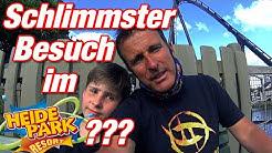 """Vlog #242 Schlimmster Besuch im """"Heide Park""""???   Stefan und John"""