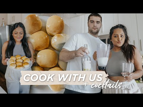 Cook With Us For Easter | Texas Roadhouse Rolls, Cocktails & Amazon Finds