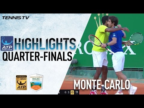 Highlights: Bopanna Cuevas Oust Top Seeds In Monte-Carlo 2017