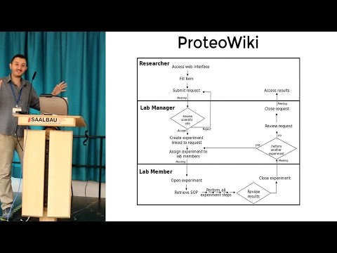Semantic MediaWiki as a Platform for Lab Management and Biological Annotation - Toni Hermoso, CRG