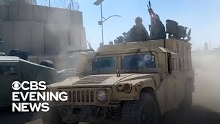 Taliban launches Afghan offensive as U.S. troops withdraw