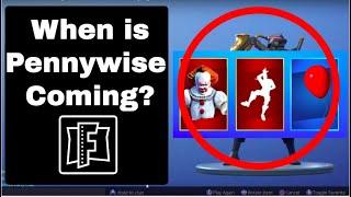 Pennywise Skin Confirmed? | Fortnite Battle Royale | Investigation Part 1