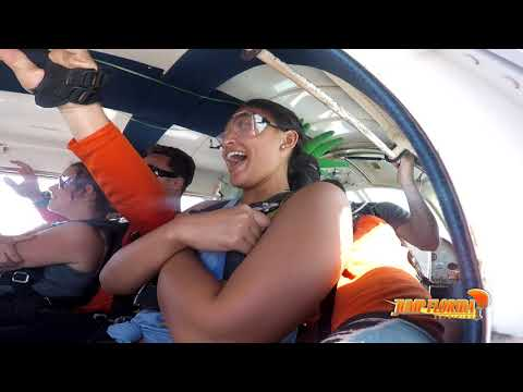 elena at Jump Florida Skydiving!