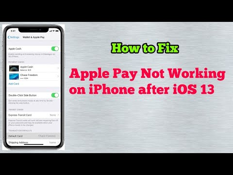 Apple Pay Not Working On IPhone SE, 6, 7, 8, X, XR, XS, XS Max And IPhone 11 Pro Max In IOS 13/13.2