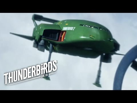 Thunderbird 2 Is Going Down | Thunderbirds Are Go Clip