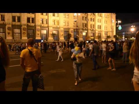 Ukraine,Kiev 's Independence Day. Киев в день независимости 24.08.2015 год