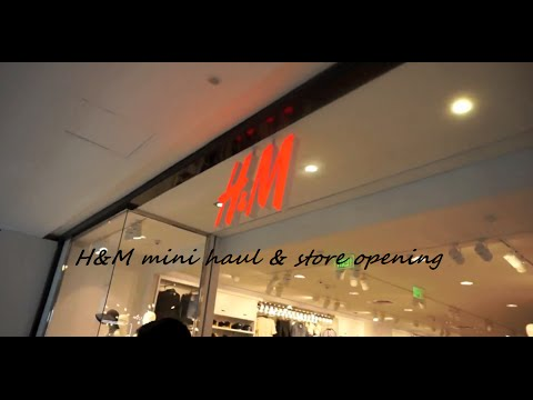 New !! H&M Bangalore India Store Opening, Mini Haul and Easter Vlog 2016 | June Studio by Kanchi