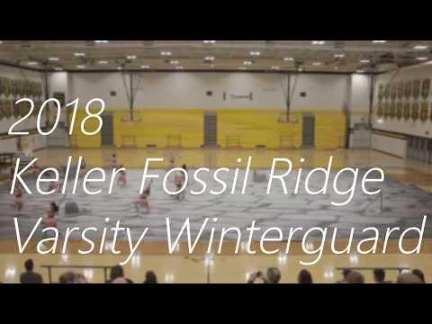2018 Keller Fossil Ridge Varsity Winterguard