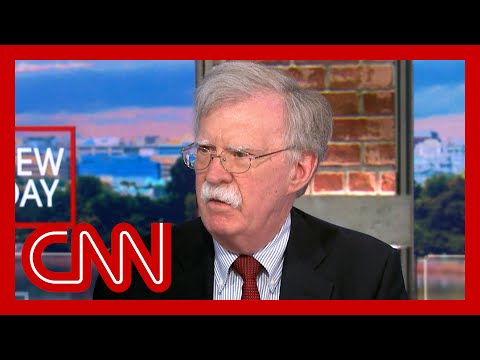 John Bolton argues for continued US military presence in Afghanistan