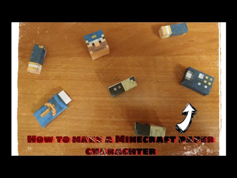 how-to-make-your-own-minecraft-paper-character!-|-matshat-pl