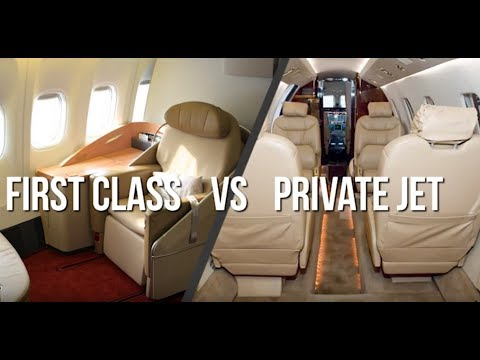 FIRST CLASS FLIGHT VS. PRIVATE FLIGHT: Choose the best for your next flight