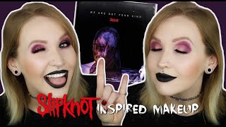 WANYK Inspired Makeup Tutorial Slipknot