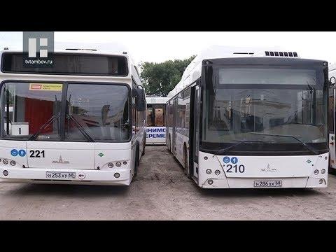 Общественный транспорт в Тамбове ждут большие перемены