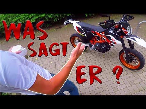 Papa reagiert auf mein neues Motorrad!