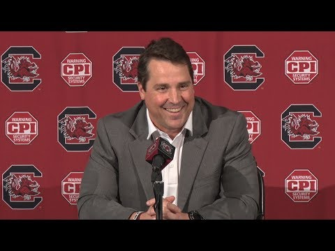 Will Muschamp Weekly News Conference — 11/27/18