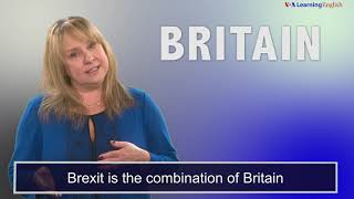 News Words: Brexit
