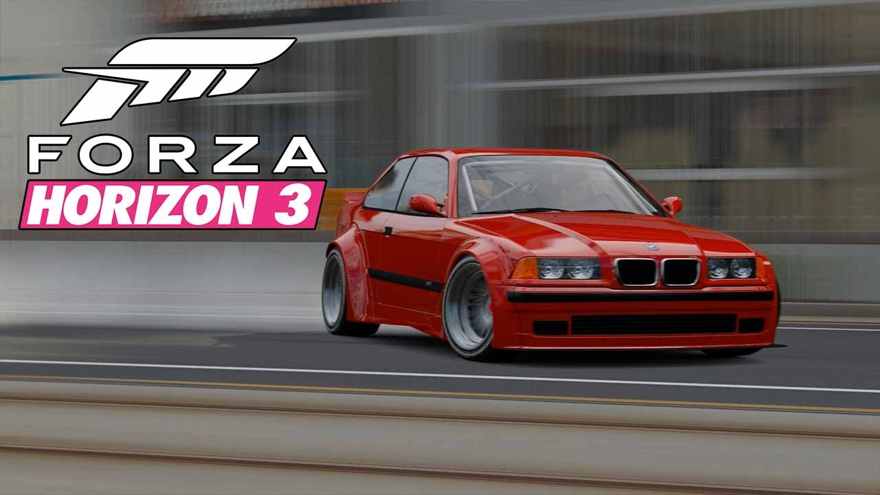 forza horizon 3 1997 bmw m3 horizon edition drift car car customization street drifting. Black Bedroom Furniture Sets. Home Design Ideas