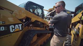 Ziegler CAT at Farmfest 2018: CAT 299 Compact Track Loader