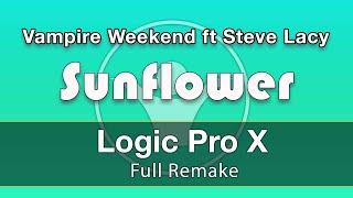 Sunflower Vampire Weekend ft Steve Lacy Logic X Remake Template Video