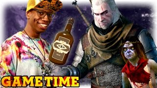 DRUNK MONSTERS IN WITCHER 3 (Gametime w/ Smosh Games)