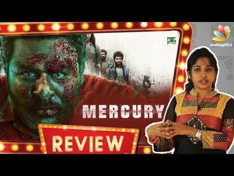 Mercury Review by Vidhya | Prabhu Deva, Sananth, Indhuja | Karthik Subbaraj
