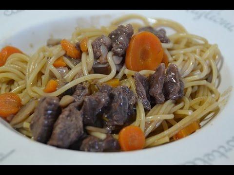 recette-cookeo:-spaghettis-bourguignonne