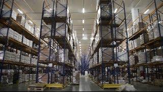Автоматизация холодильных складов компании «Аллигатор»