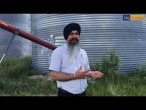 Canada | Canola Farm | Grain Storage | Jag Punjabi TV