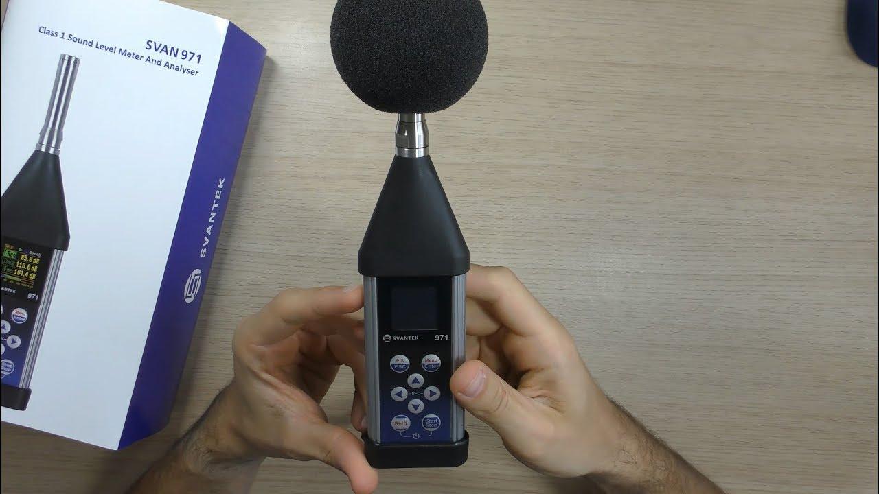 Svantek Svan 971 Sound Level Meter Overview Youtube Schematic For