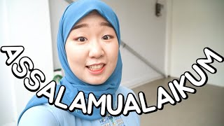 Download [YUNA-LOG🇮🇩] #5 ORANG KOREA NGAJI PAKAI HIJAB DI INDONESIA | MUKBANG SOTO KUDUS
