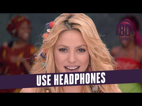 Shakira - Waka Waka (Lyrics)(This Time for Africa) (8D Audio🎧)