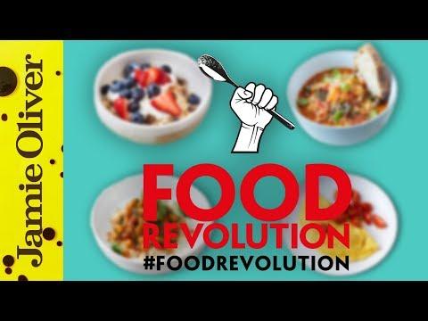 Jamie Oliver's 10 Food Revolution Recipes   #foodrevolution