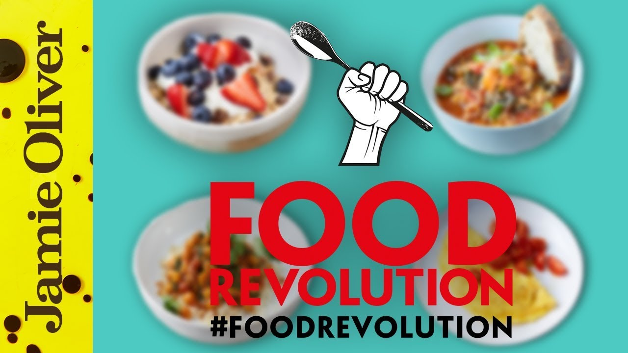 Jamie oliver 39 s 10 food revolution recipes - Cuisine r evolution recipes ...
