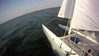 CATAMARAN SAILING FAST DART 18 HOURTIN