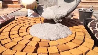 QUICK MIX PFL Расствор для заполнения швов тротуарной плитки(Свойства и применение трехкомпонентного раствора QUICK MIX PFL для заполнения швов брусчатки, плит из натуральн..., 2015-10-20T06:52:05.000Z)