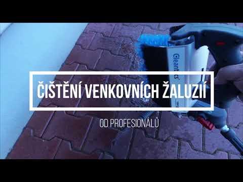Čištění venkovních žaluzií Praha a okoli