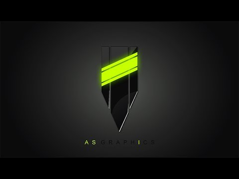 3D Logo Design Tutorial  - 3D Pencil icon With Neon Effect in CorelDraw x7 thumbnail