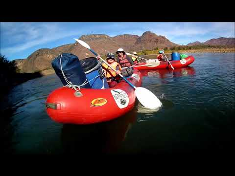 Rowing on the Orange River