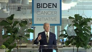 VP Joe Biden LIVE Remarks at WeWork on Progress Against Cancer